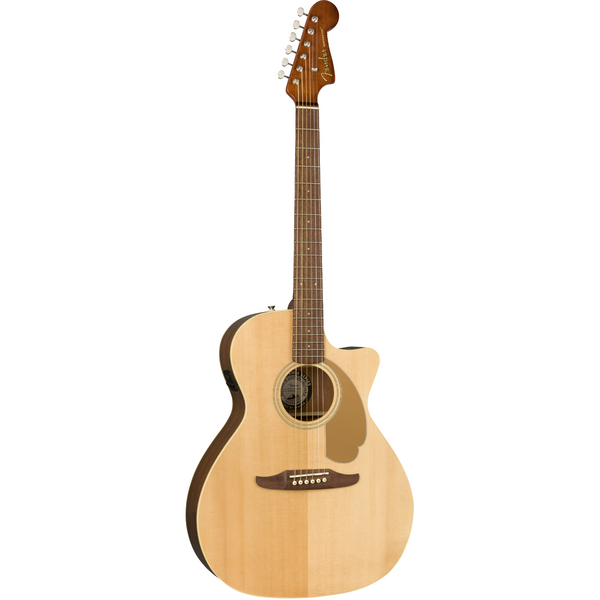 Fender 'Newporter Player' Electro Acoustic, Natural Hi Gloss. P/N 0970743021