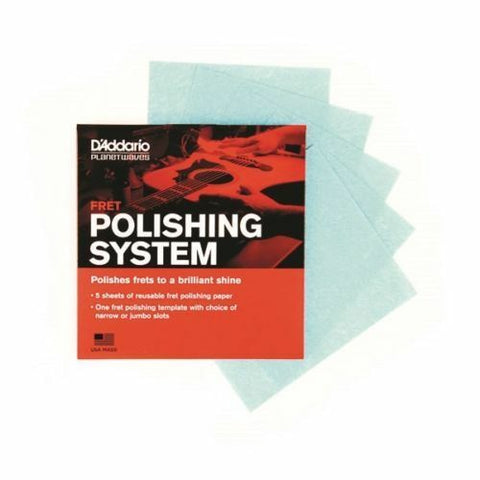 D'Addario PW-FRP Fret Polishing System. Easily Rejuvinate Your Fretboard !