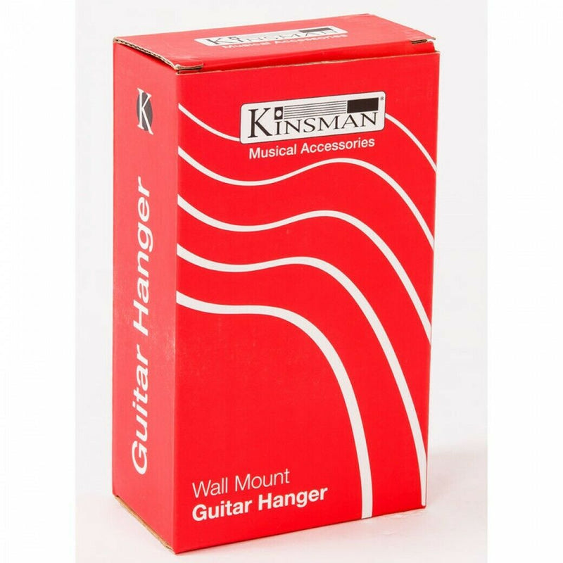 Kinsman Screw wall Guitar Hanger Black KWH10