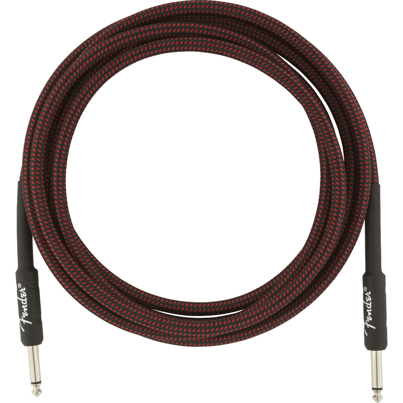 Fender Professional Series Instrument Cable, 10', Red Tweed P/N 0990820061