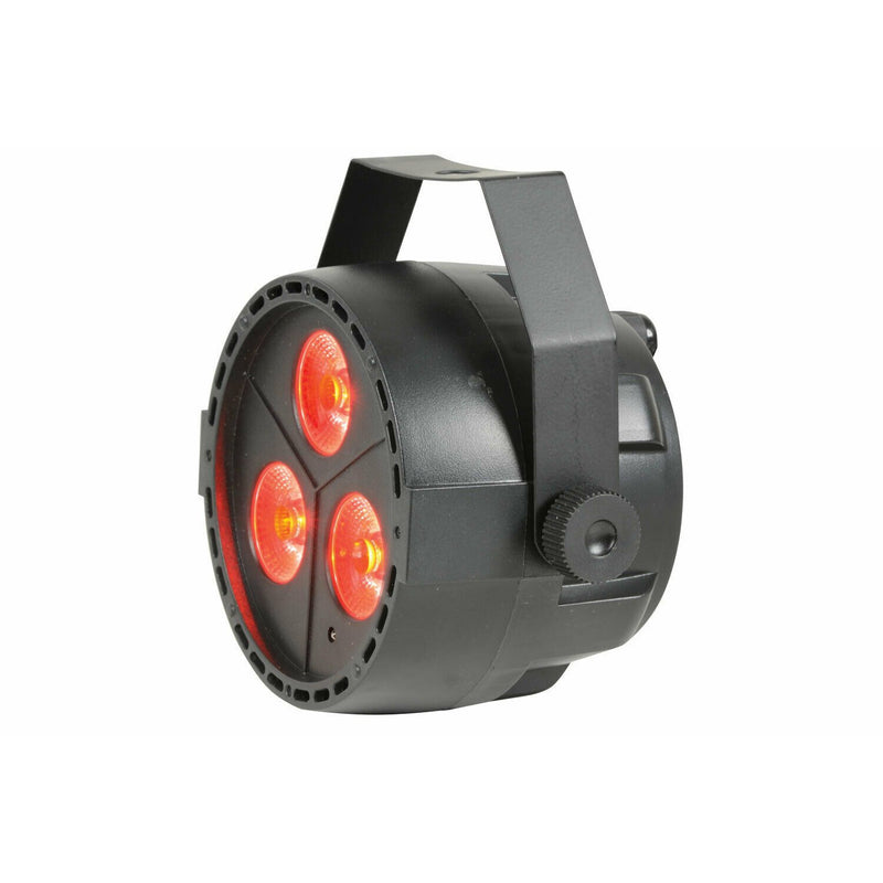 QTX PAR12 RGBW DMX PAR Light 3 x 4W LED + Remote Control