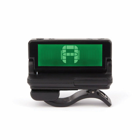 D'Addario Clip on Headstock Tuner PW-CT-10.Multi-Color Backlit LCD Screen
