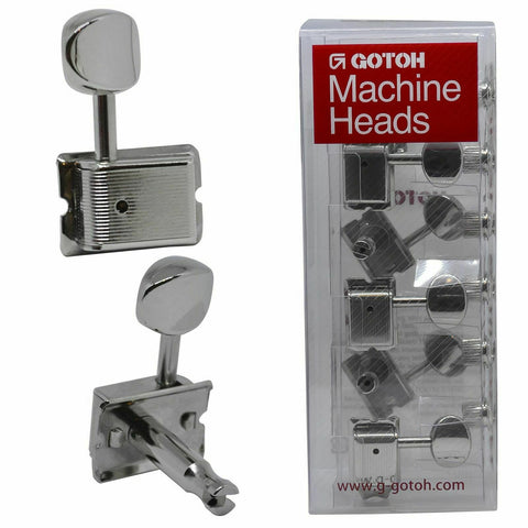 Gotoh Vintage SD91 Machine Heads Tuners Split Posts 6 in line for Strat/Tele