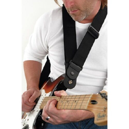 D'Addario Shoulder & Back Saving 'Dare' Strap for Heavy Guitars 50DARE000