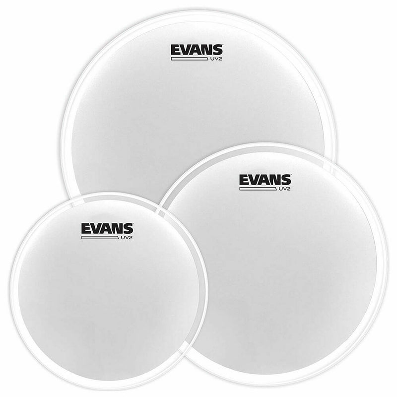 "Evans UV2 Coated Tom Pack-Fusion (10"", 12"", 14"")"