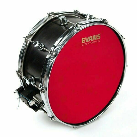 "Evans 14"" Hydraulic Red Coated Snare Drum Head B14HR"