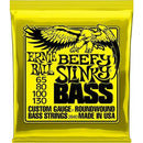 Ernie Ball 2840 'Beefy Slinky' Bass Strings.For Ultra-Low Tunings, 65/80/100/130