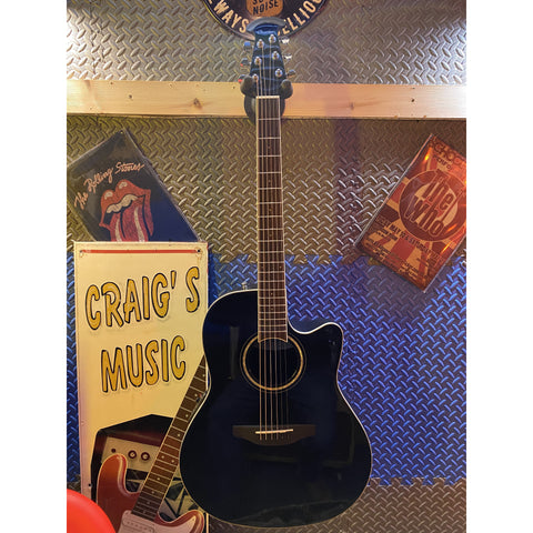 Ovation CS24-5 Celebrity Standard - Black Electro Acoustic Guitar
