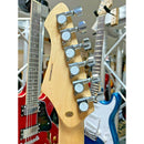 ARIA 714-STD VW Standard Electric Guitar Vintage White Finish, Pearloid Plate