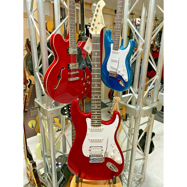 Aria STG-004 Electric Guitar Candy Apple Red. Awesome Value Entry Level Guitar