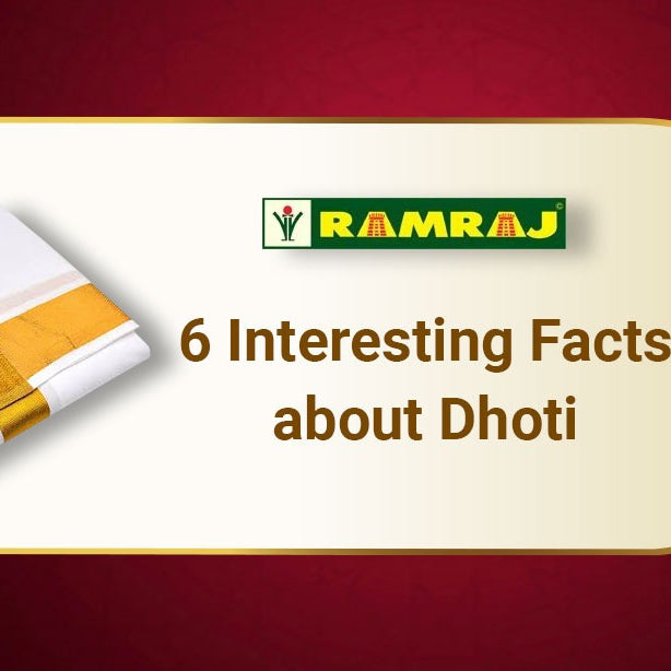 6 Interesting Facts about Dhoti