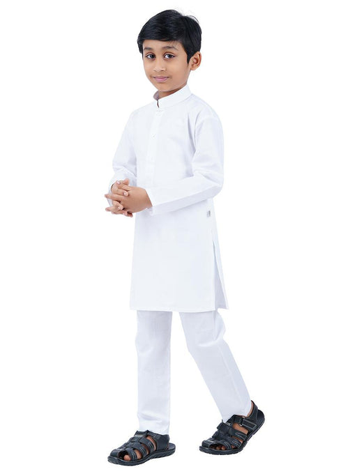 Kurtha Pyjama Set White