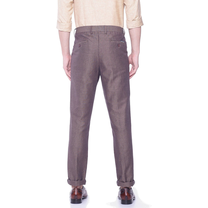 Linen Cotton Pant - Dark Orange