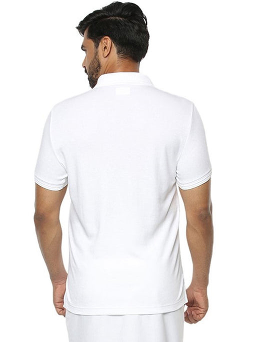 Liquid Polo Without Pocket T-Shirt - White