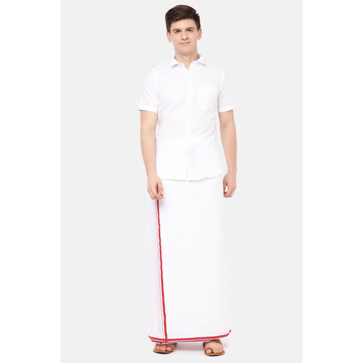 We Care Anti-Viral Dhoti BB & Half Sleeves Shirt Set