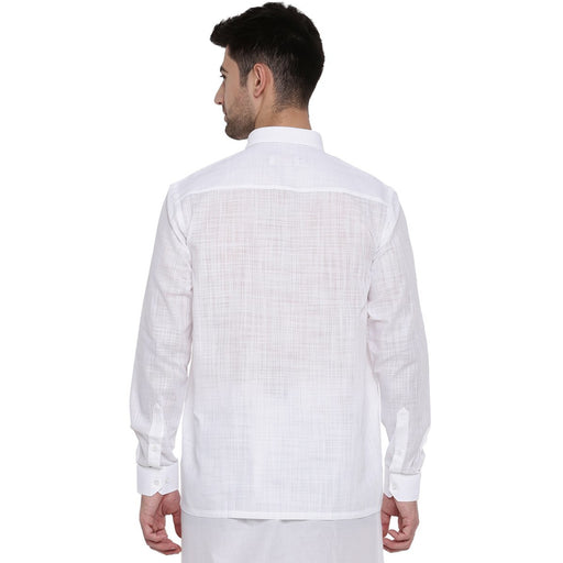 Celebrity White-3 Full Sleeves Shirts (1356323422255)