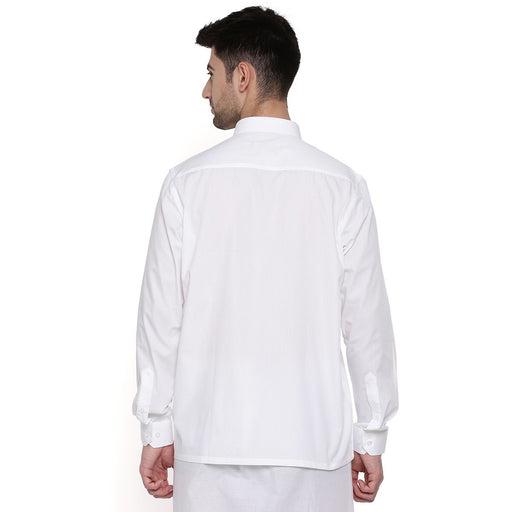 Elite Cotton Full Sleeves Shirt (1356326305839)