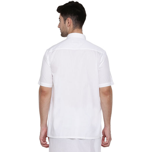 Elite Cotton Half Sleeves Shirt (1356371656751)