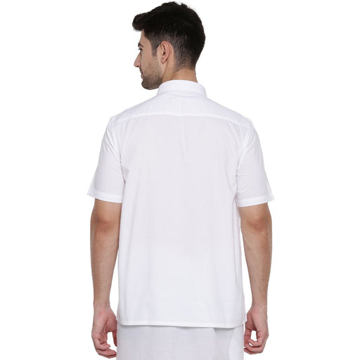 Expert Cotton Half Sleeves Shirt (1356371886127)