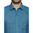Linen Park 5605C Full Sleeve Shirt - Prussian Blue (4362344693807)