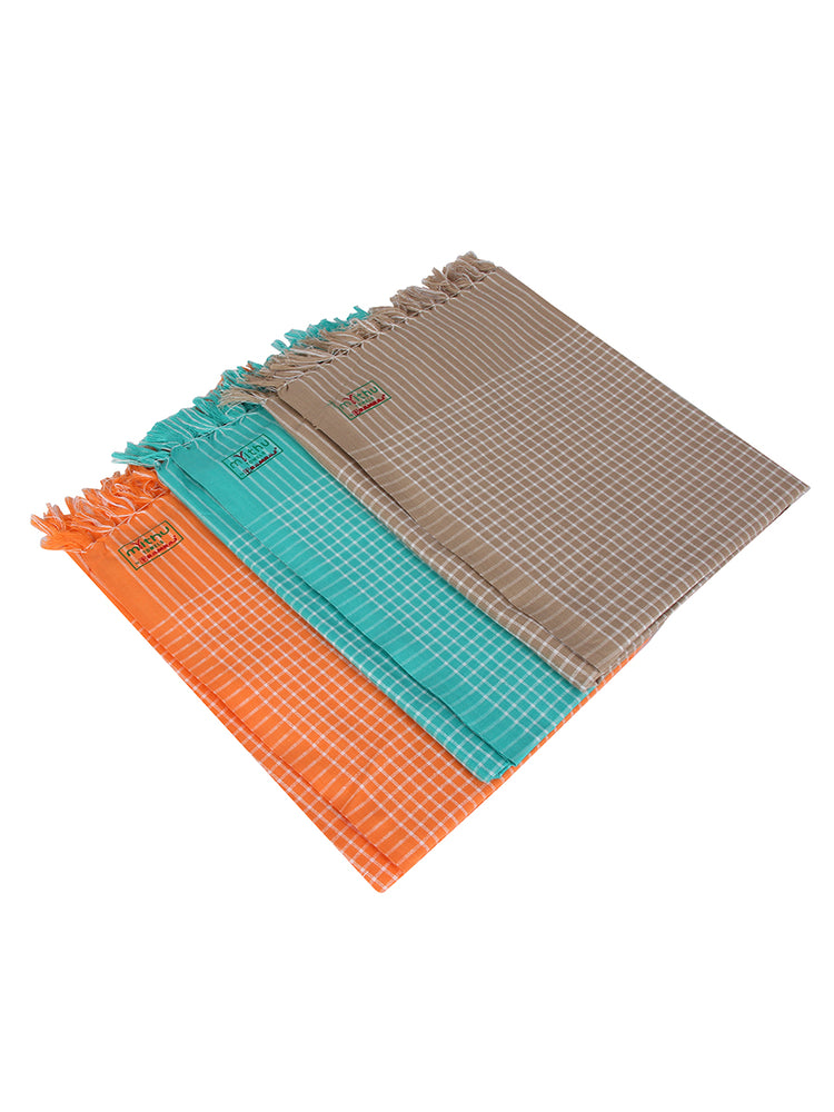 Hero Checked Towel Colour