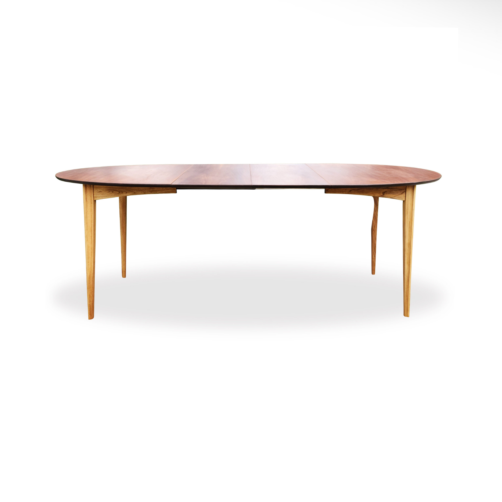 Walnut Oval Dining Table by Deilcraft