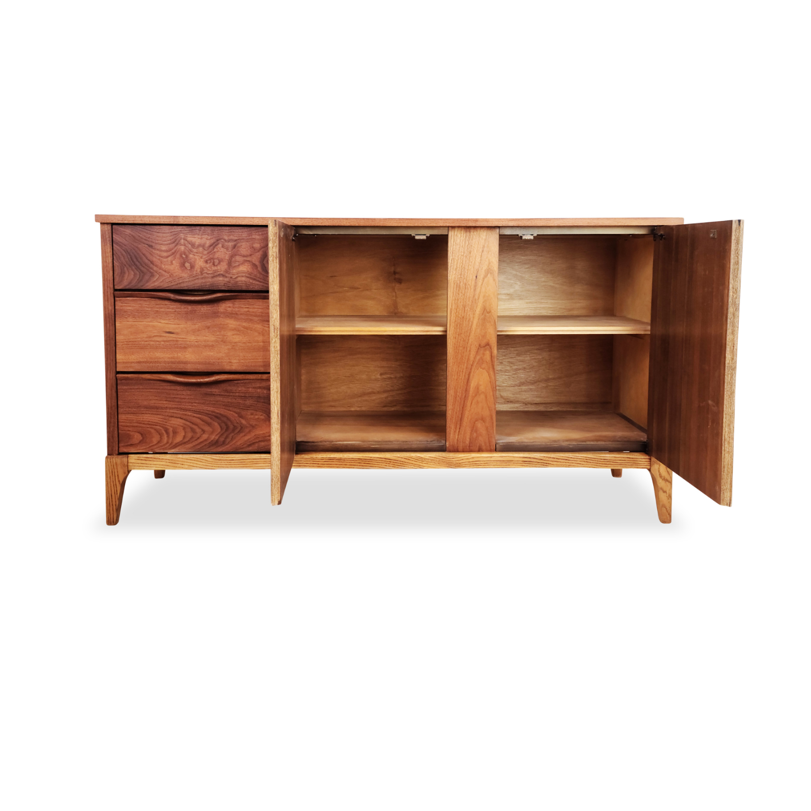 Walnut Sideboard by Kaufman Furniture