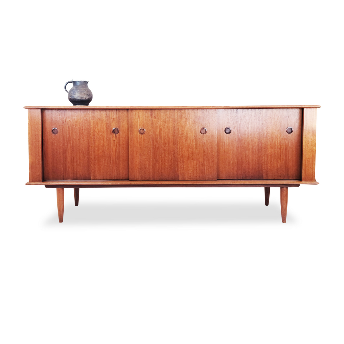 Mid Century Teak Sideboard by Punch Design