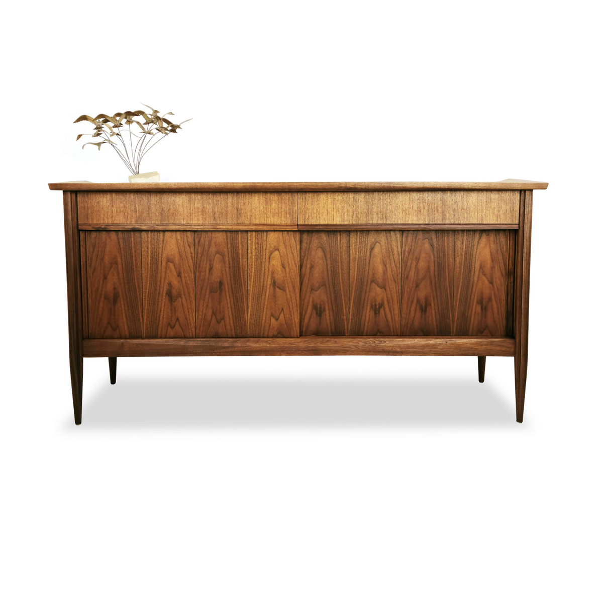 Vintage Walnut Sideboard by Deilcraft