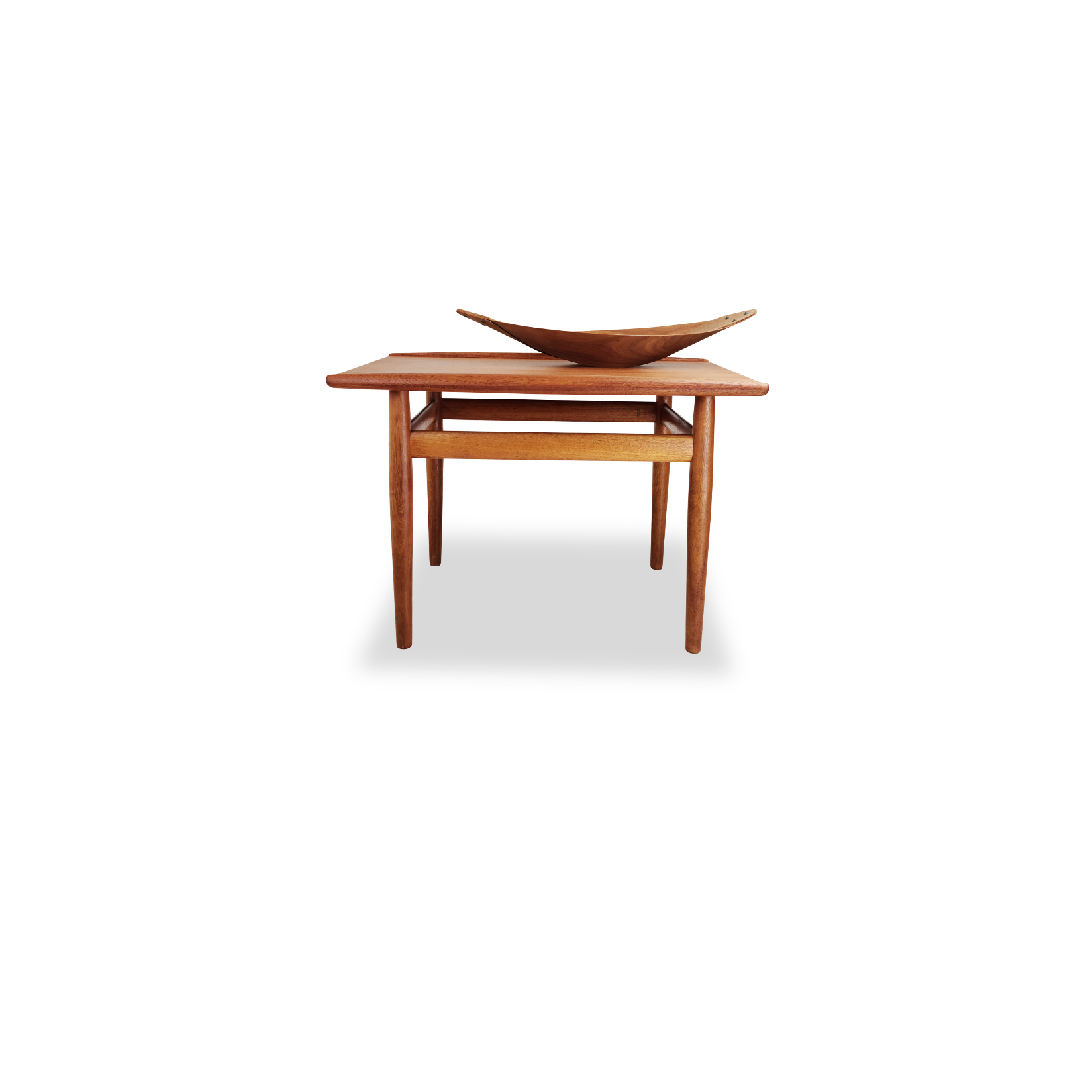 Teak End Table by Grete Jalk