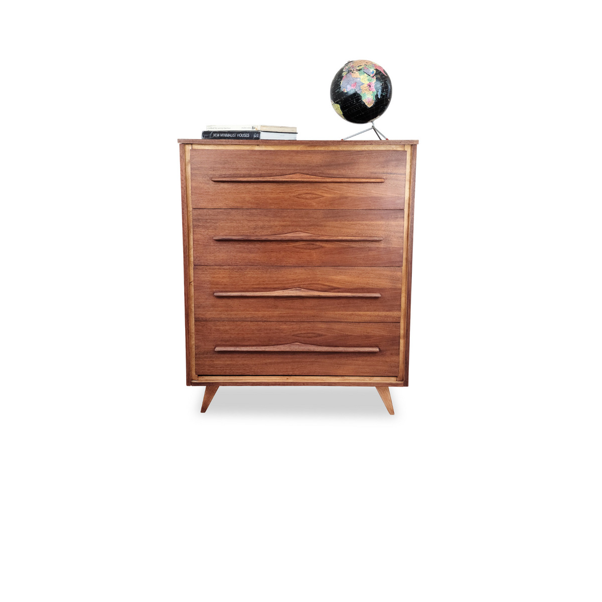 Walnut Highboy by Vic Art