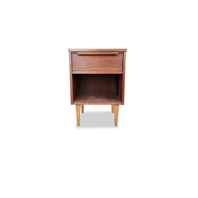 Vintage Walnut Nightstand