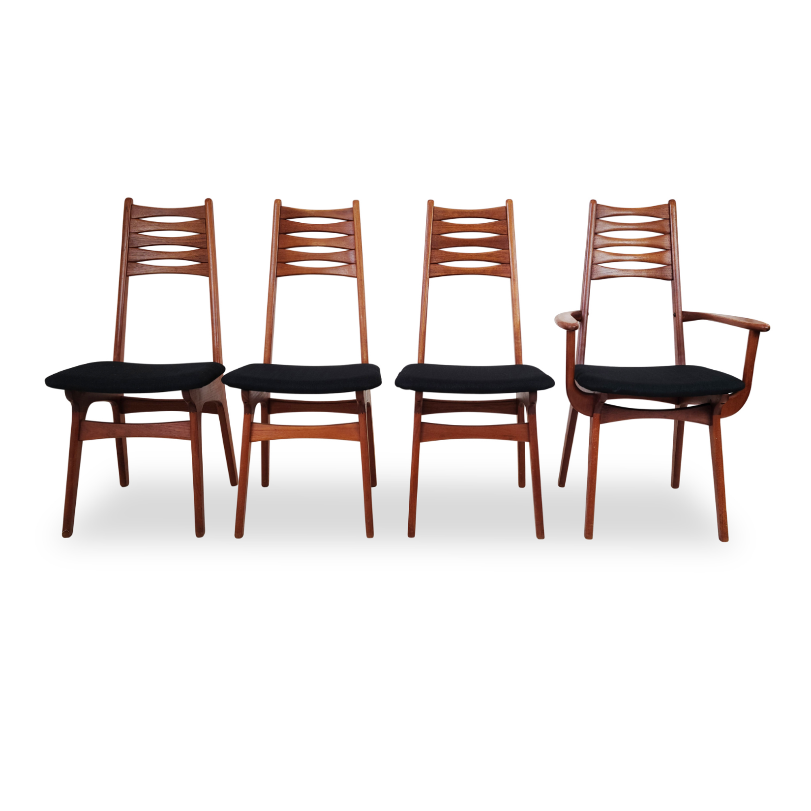 Teak Dining Chairs by Korup Stolefabrik