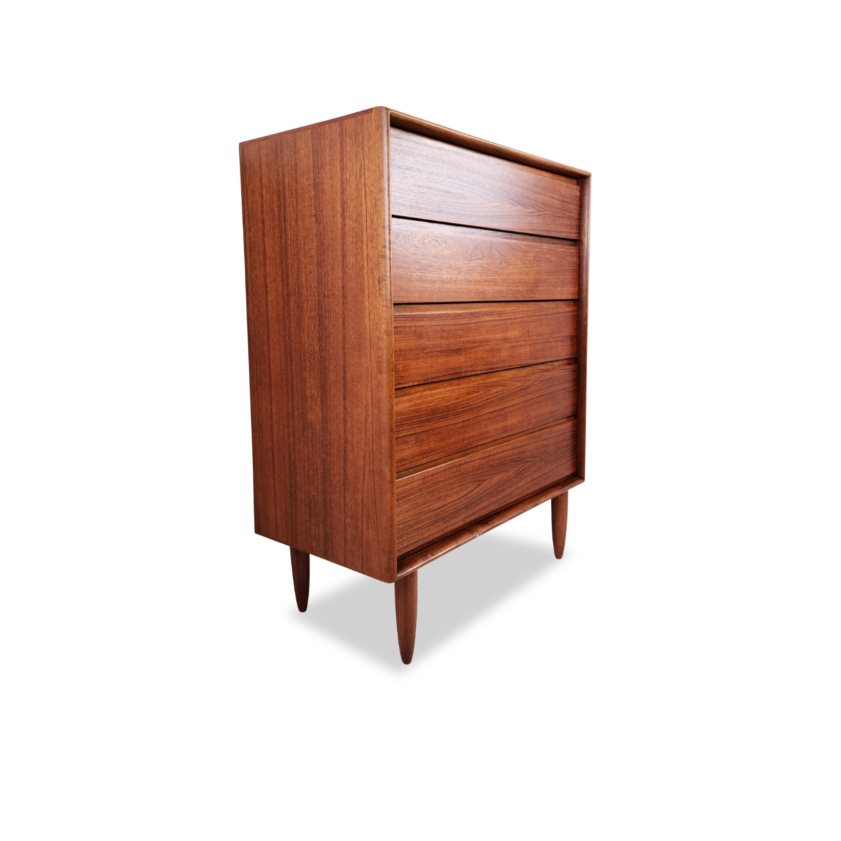 Norwegian Teak Highboy by Art Furn