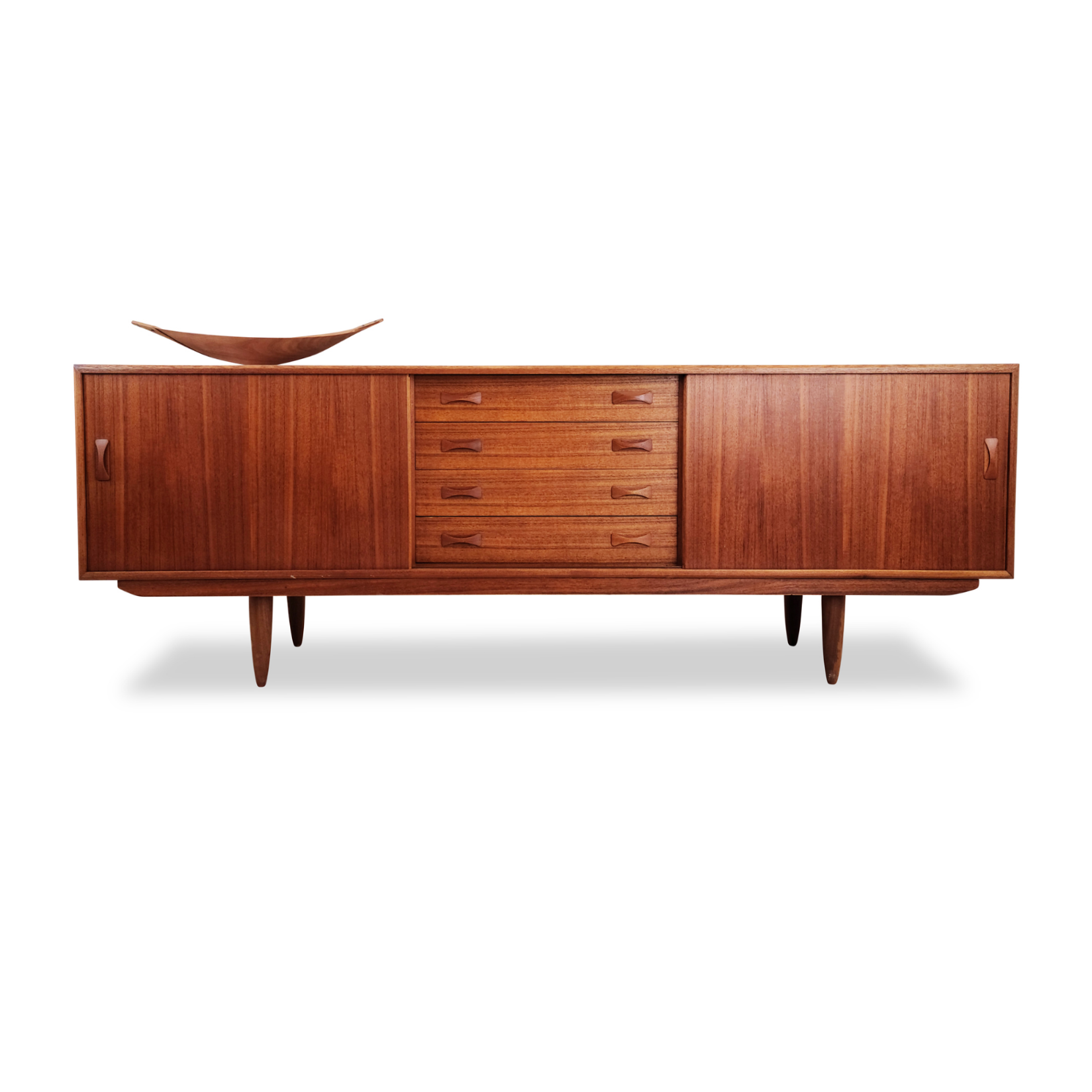 Teak Sideboard by Clausen and Son