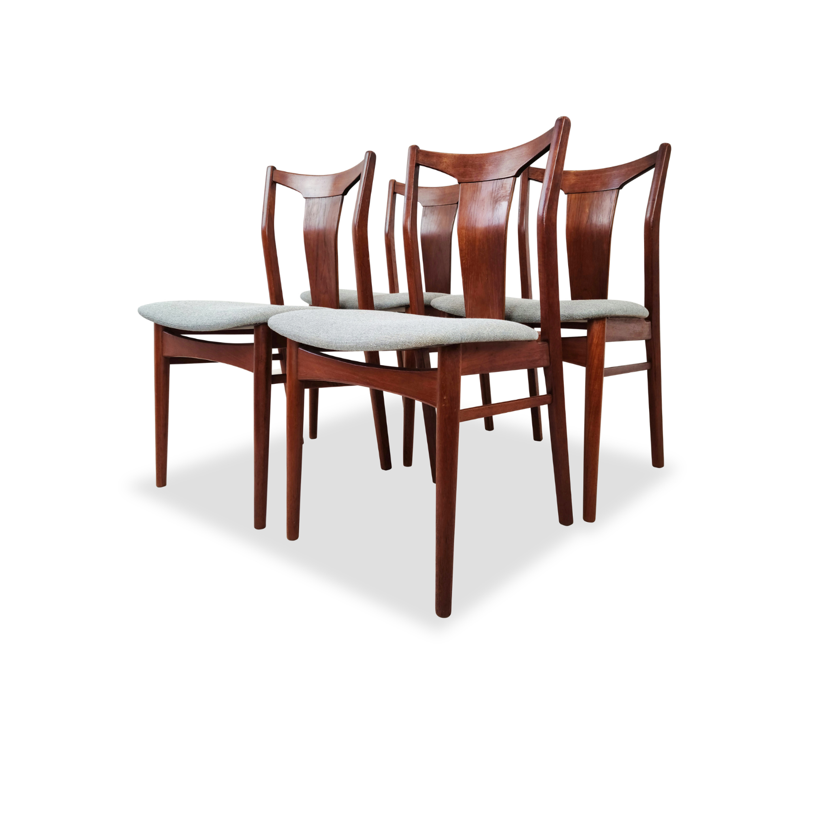 Teak Dining Chairs by Henning Sorensen