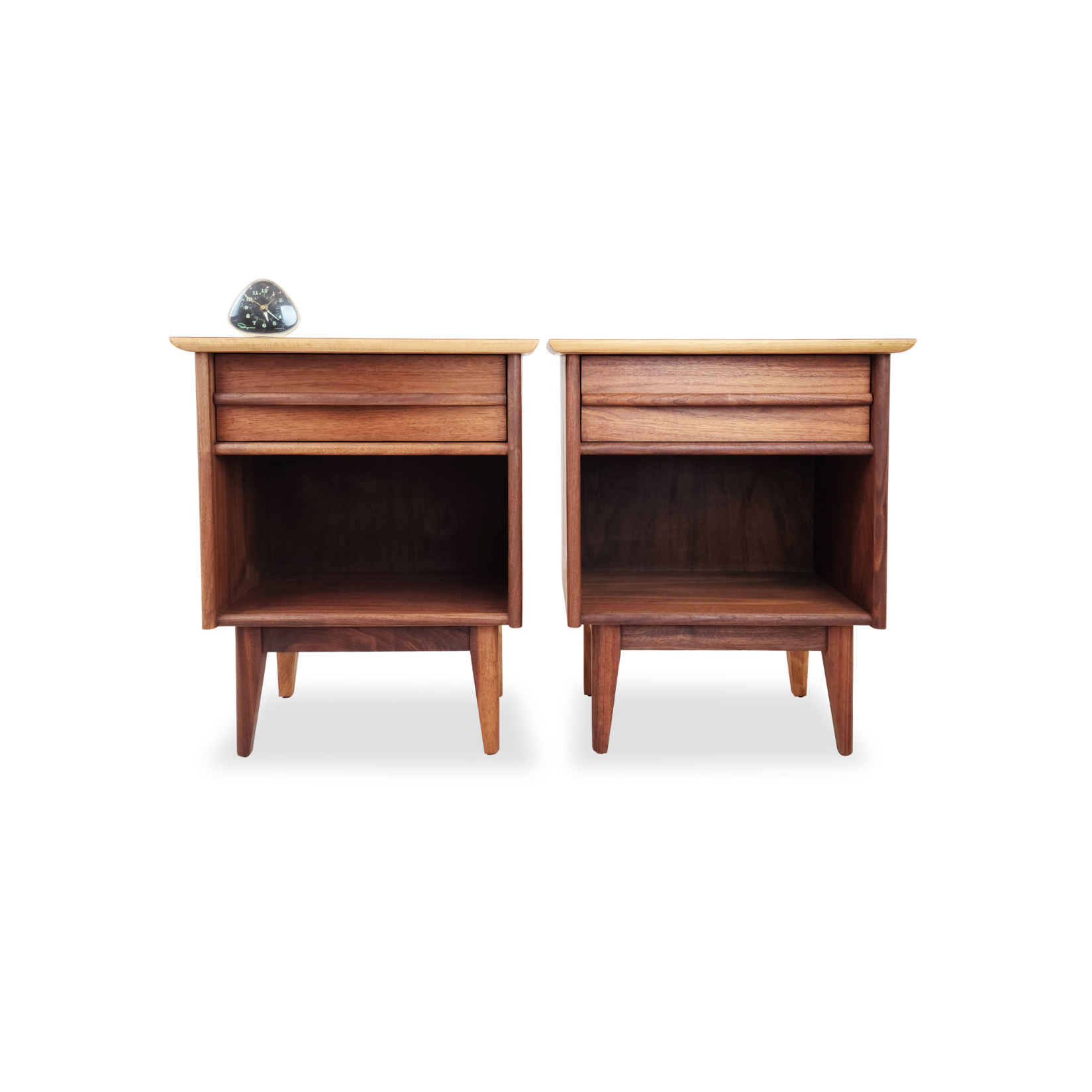 Walnut Nightstands by Gibbard Furniture