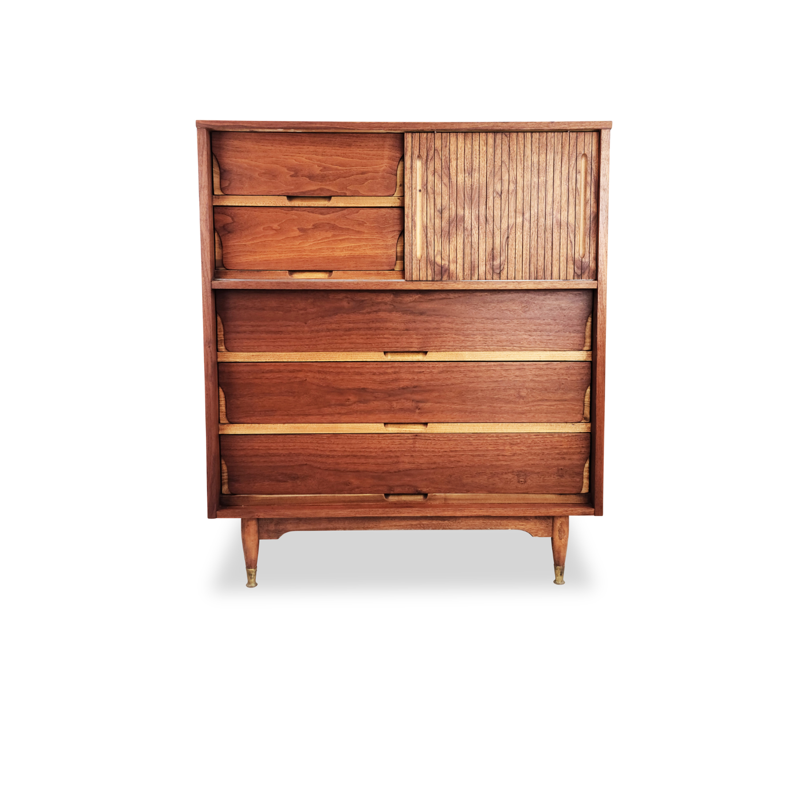Vintage Walnut Highboy