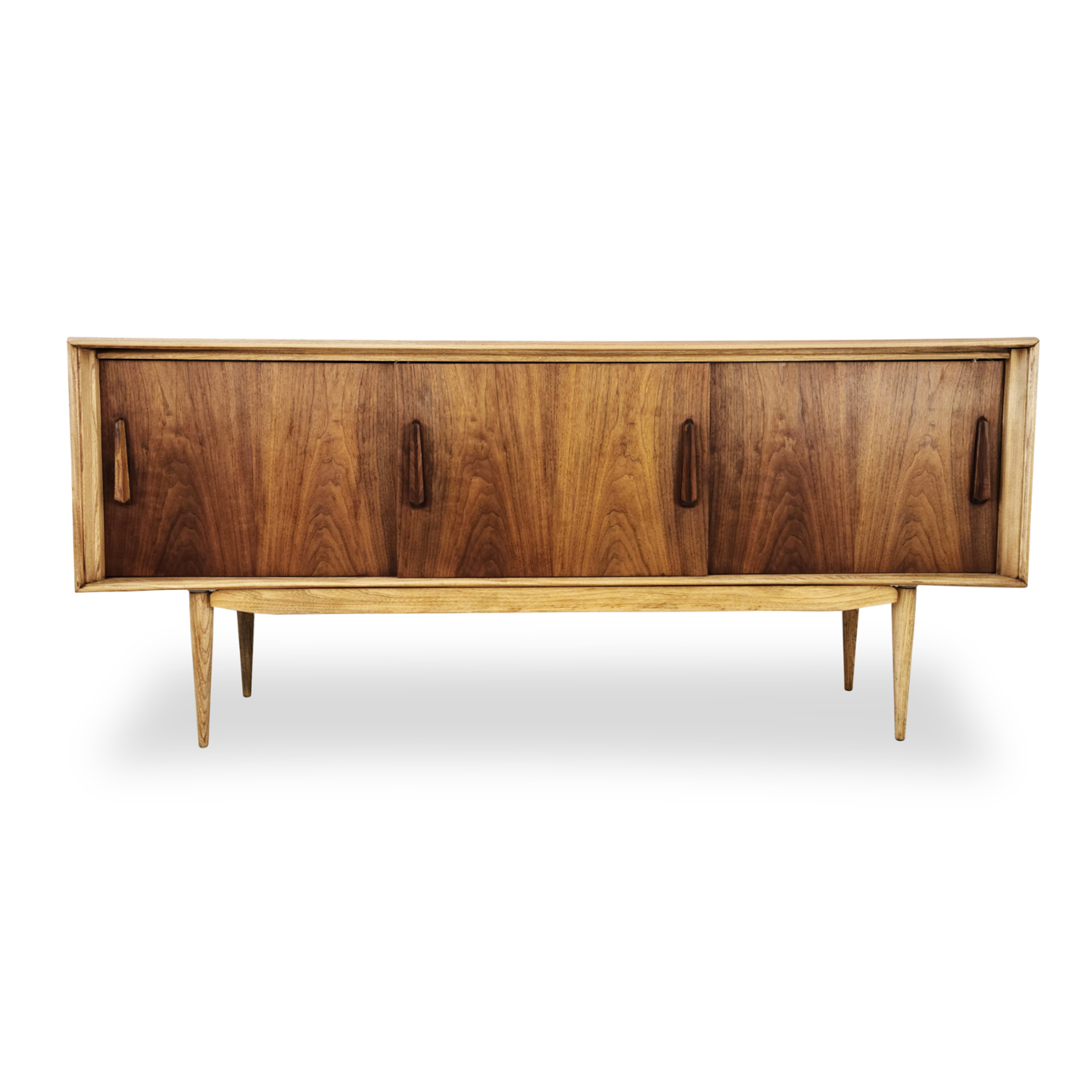 Walnut and Ash Sideboard by Deilcraft
