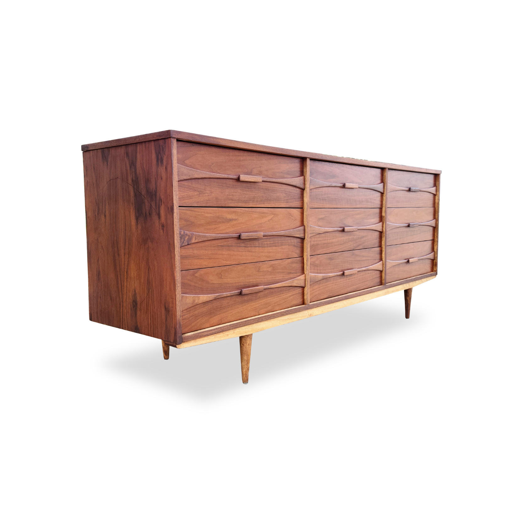 Walnut Dresser by Vic Art