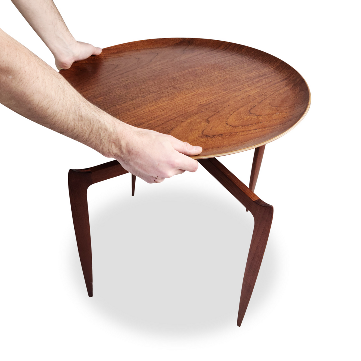 Tray Table by Svend Åge Willumsen & H. Engholm for Fritz Hansen
