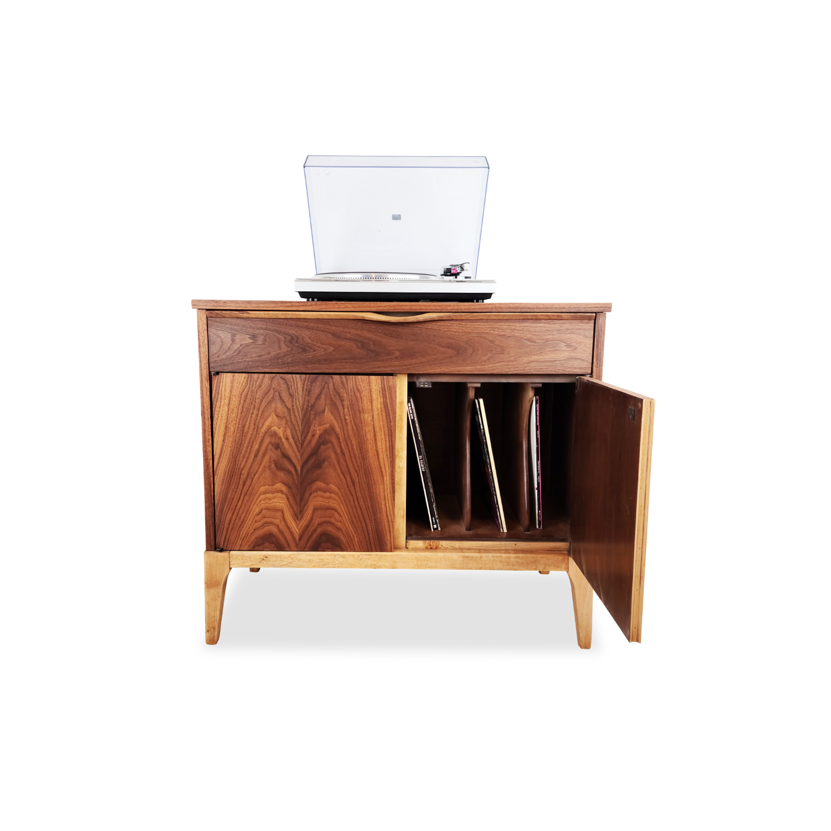 Record Cabinet by Kaufman Furniture