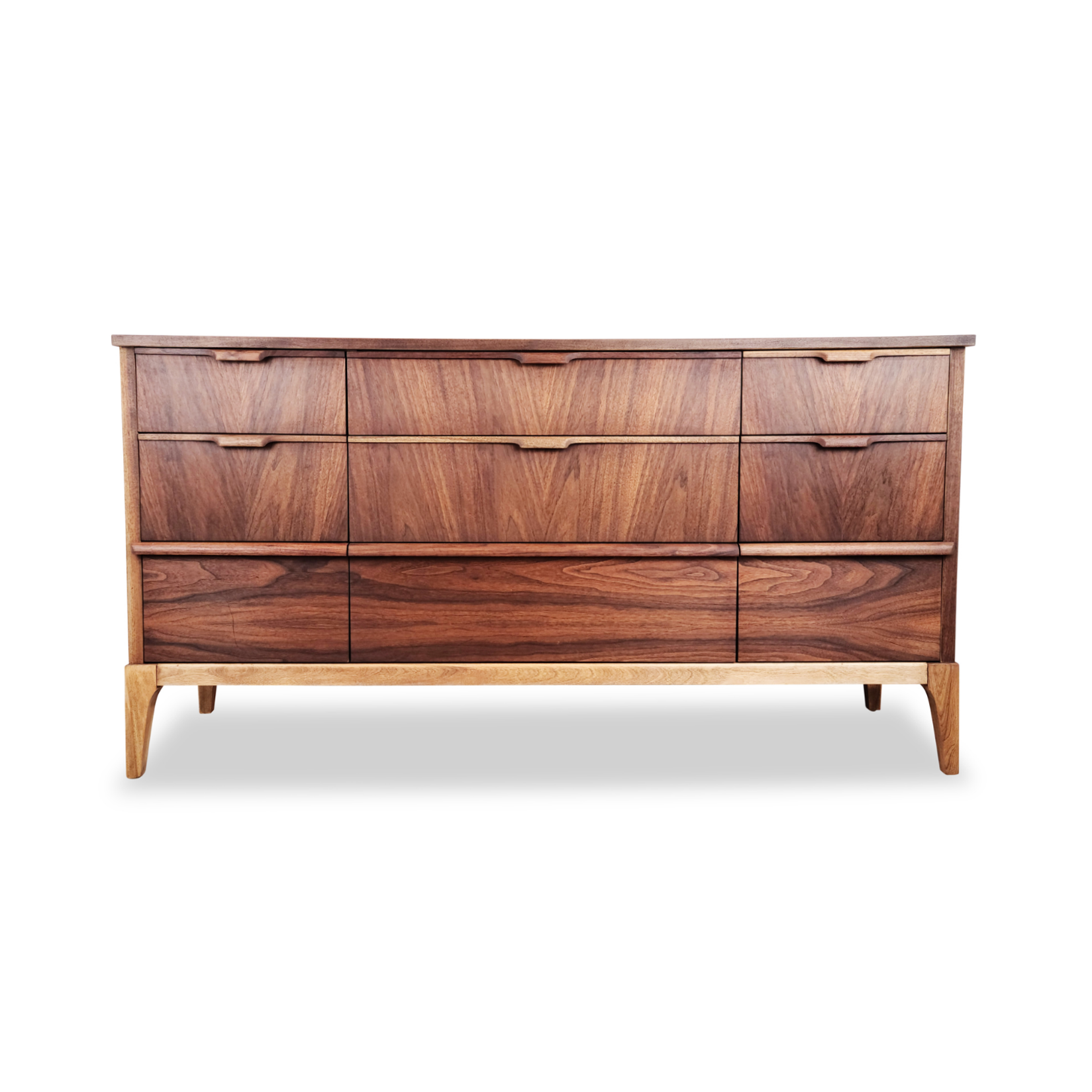 Walnut Dresser by Kaufman Furniture