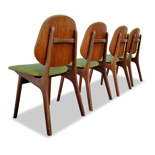 Danish Dining Chairs by Arne Hovmand Olsen