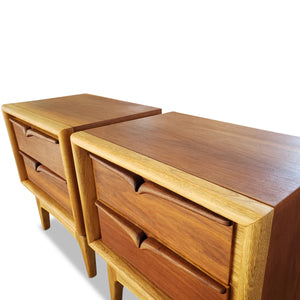 Mid Century Nightstands by United Furniture