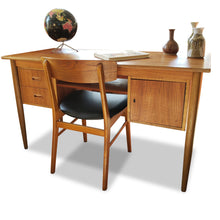 Load image into Gallery viewer, Mid Century Teak Desk