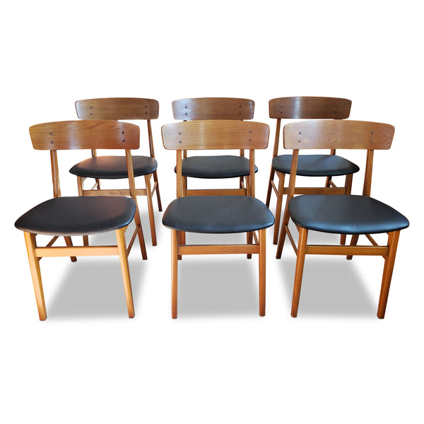 Fabulous Danish Dining Chairs By Arne Hovmand Olsen Decade Five Squirreltailoven Fun Painted Chair Ideas Images Squirreltailovenorg