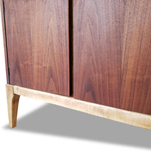 Load image into Gallery viewer, Vintage Walnut Sideboard by Kaufman Furniture