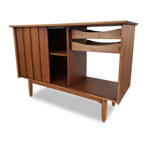 Vintage Walnut Sideboard