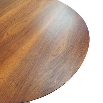 Oval Walnut Dining Table by Deilcraft